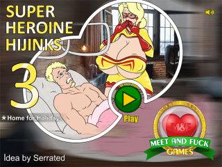 Super Heroine Hijinks 3: Home for Holidays